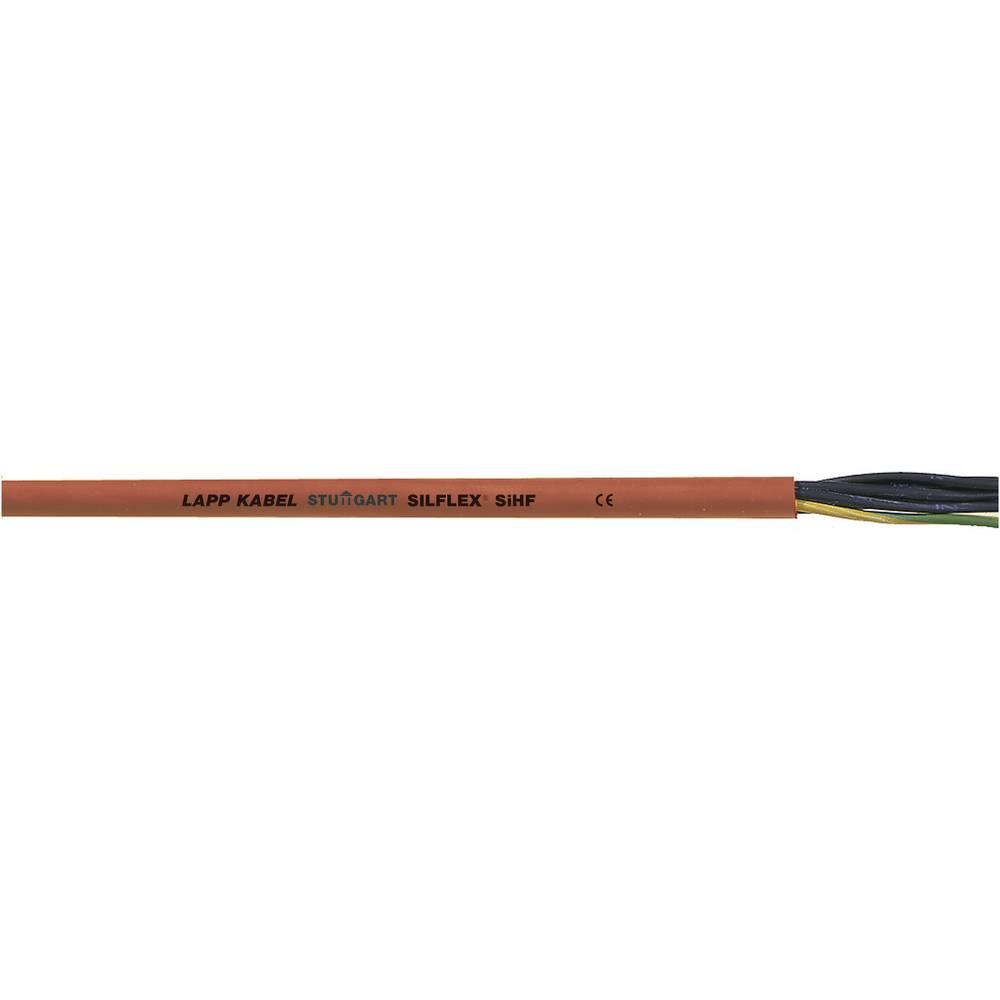 Visokotemperaturni vodnik ÖLFLEX® HEAT 180 SIHF 3 G 2.5 mm rdeče barve, rjave barve LappKabel 0046020 meterski