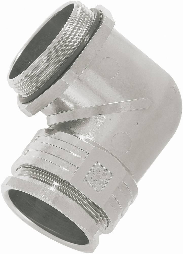 Kabelska uvodnica, kotna M12 medenina srebrne barve LappKabel SKINDICHT® RWV-M12 x 1.5 1 kos