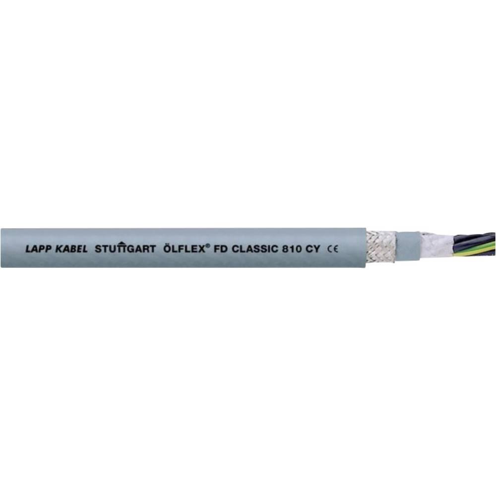 Kabel za energetski lanac ÖLFLEX® FD CLASSIC 810 CY 4 G 1.50 mm sive boje LappKabel 0026251 roba na metre