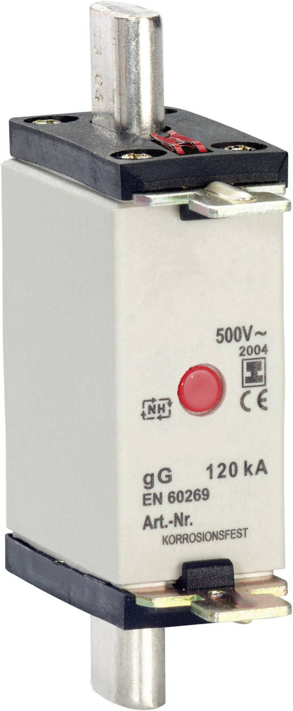 Nizkonapetostna močnostna varovalka, velikost varovalke = 000 16 A 500 V/AC Bals Elektrotechnik 9399