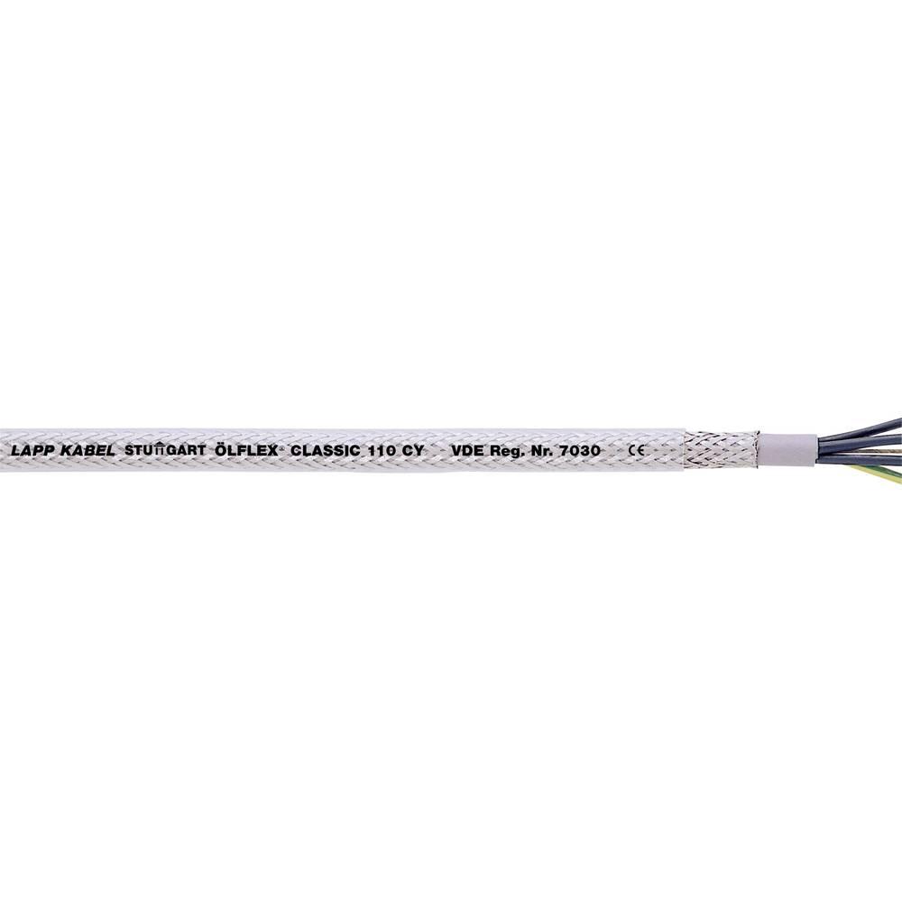 Krmilni kabel ÖLFLEX® CLASSIC 110 CY 5 G 4 mm transparentne barvene barve LappKabel 1135505 meterski