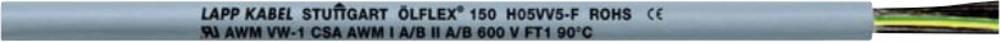 Upravljački kabel ÖLFLEX® 150 QUATTRO 3 G 0.50 mm sive boje LappKabel 0015003 roba na metre