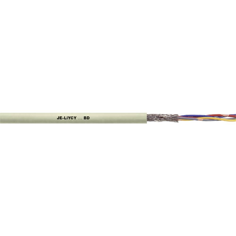Podatkovni kabel JE-LiYCY...BD 4 x 2 x 0.5 mm sive barve 0034201 100 m