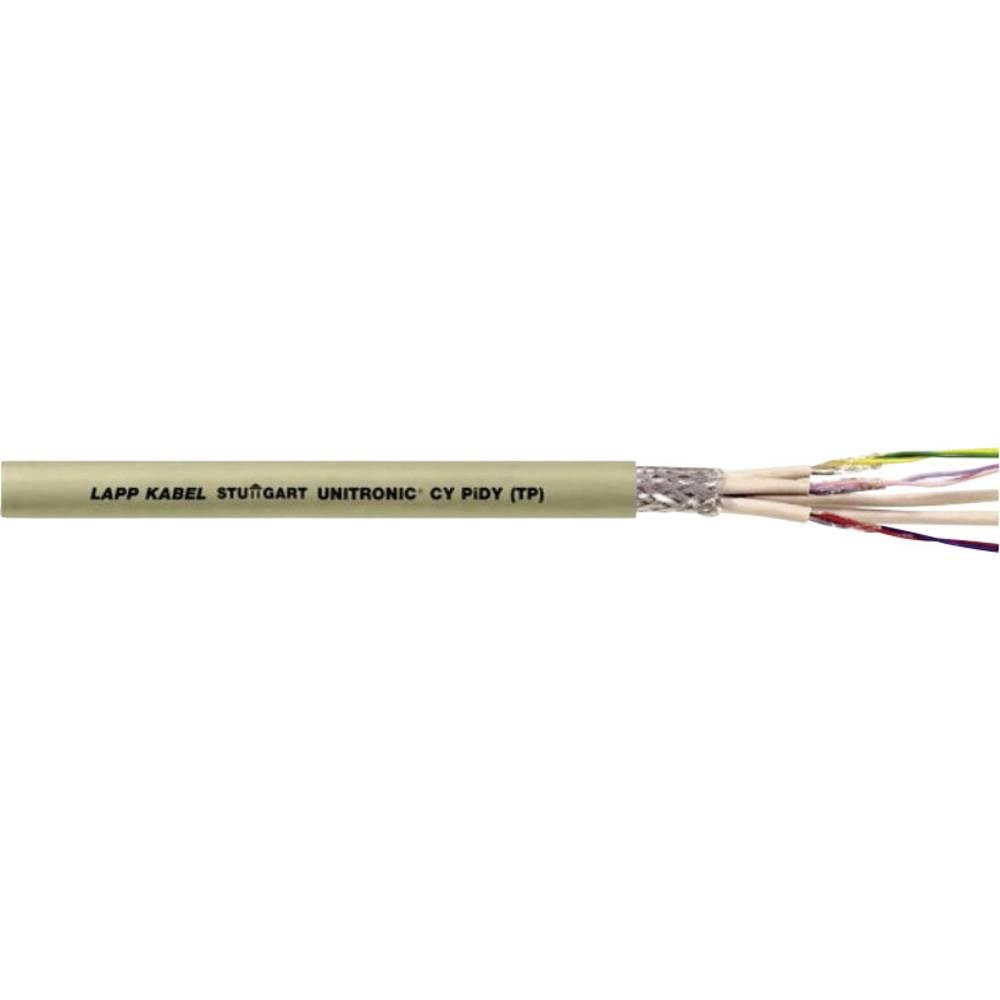 Priključni vodnik ÖLFLEX® 540 P 7 G 1 mm rumene barve LappKabel 0012461 meterski