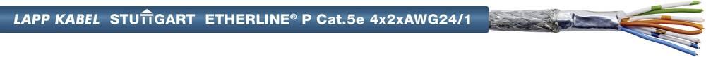 Omrežni kabel CAT 5e SF/UTP 4 x 2 x 0.22 mm modre barve LappKabel 2170296 metrsko blago