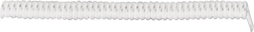 Spiralni kabel X05VVH8-F 1000 mm / 3000 mm 3 x 0.75 mm bijele boje LappKabel 73222364 1 kom.
