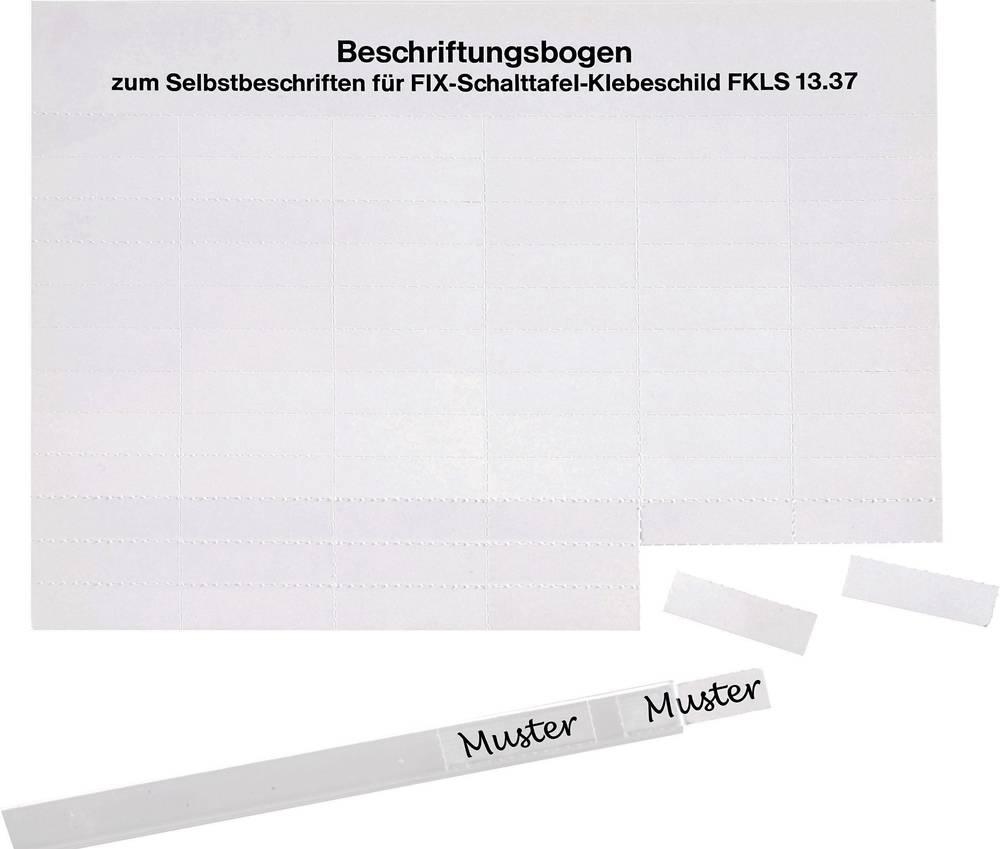 Etikete za označevanje kablov Fleximark 35 x 10.50 mm označevalno polje: bele barve LappKabel 61721810 FKLS 1337 Anzahl Etikette