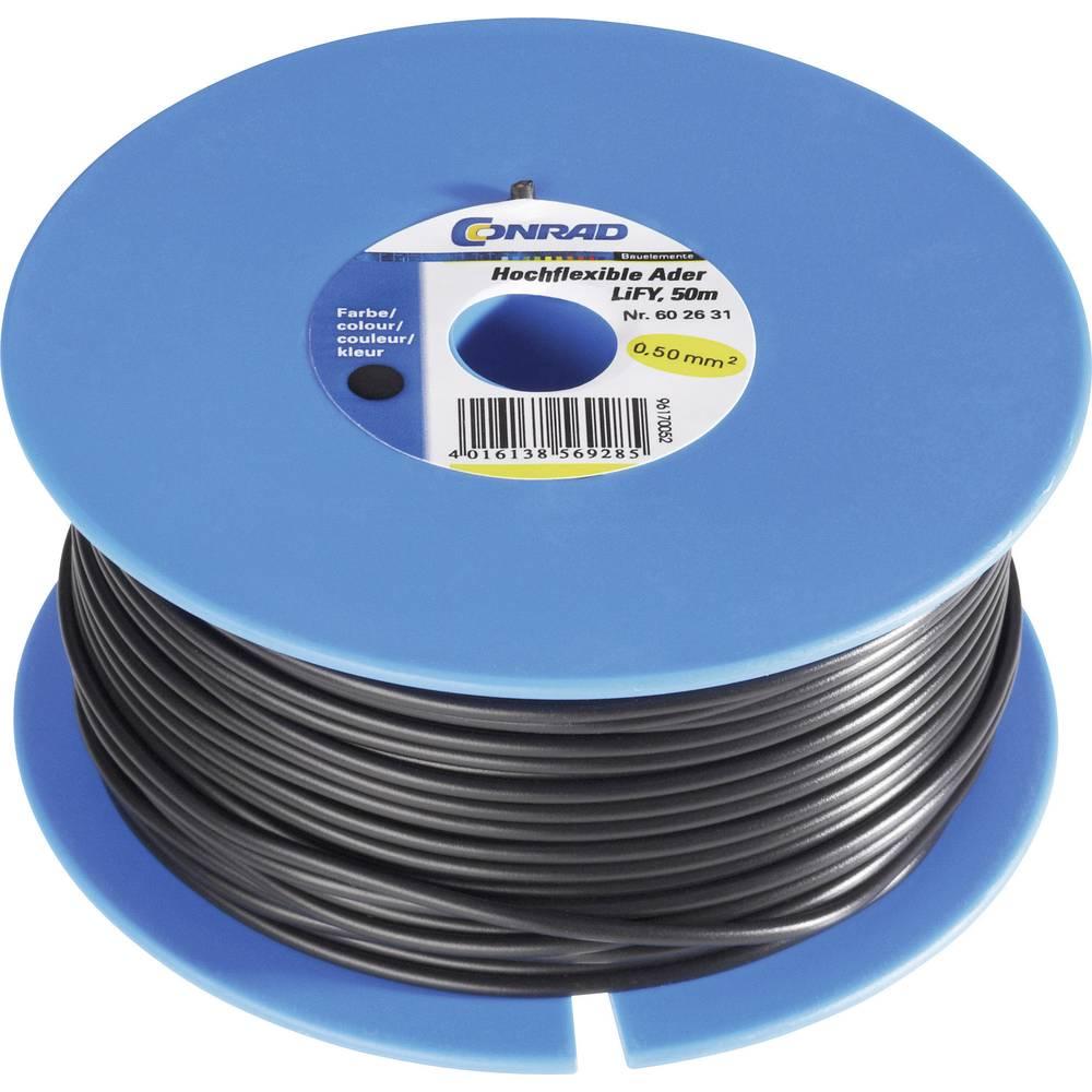 Conrad 9999000309 Highly Flexible Single Core LiFY (PVC Test Lead) 1 ...