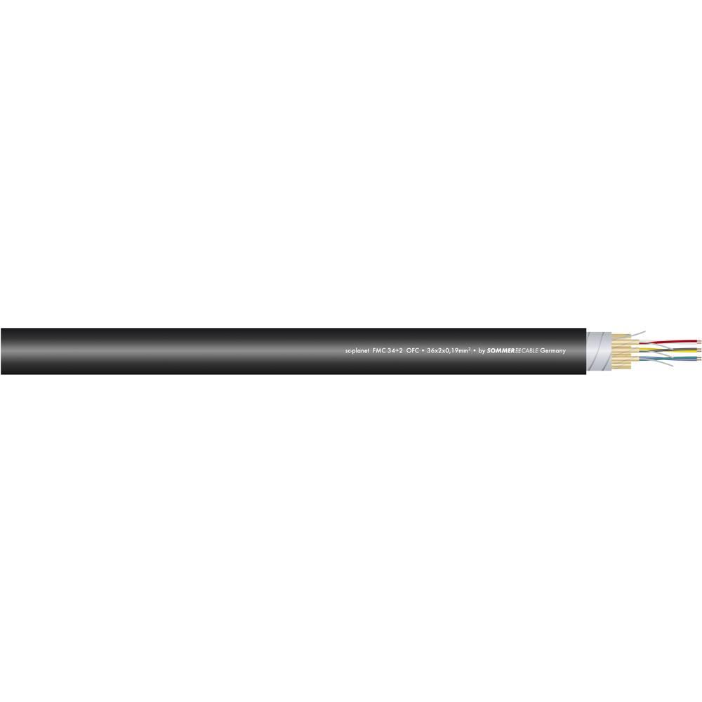Sommer Cable-''SC-PLANET FMC''-Višežilni audio kabel, 4x2x0.19mmË>, crn, metarska roba 100-0051-04