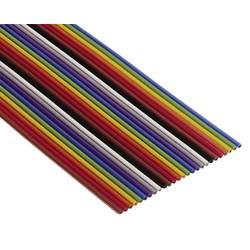 Ploščati kabel dimenzije: 1.27 mm 64 x 0.08 mm pisan 3M 80610790281 meterski