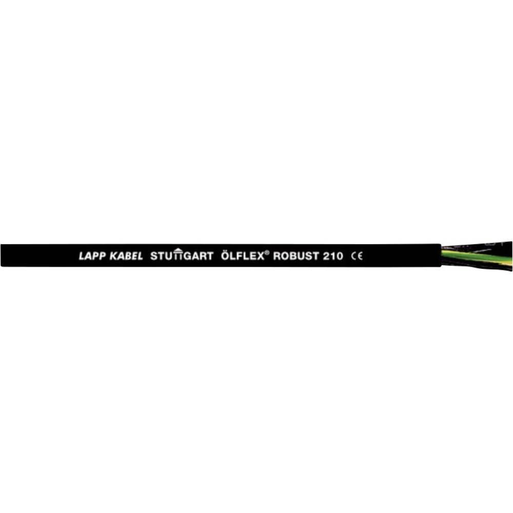 Krmilni kabel ÖLFLEX® ROBUST 210 3 G 1.5 mm črne barve LappKabel 0021929 meterski