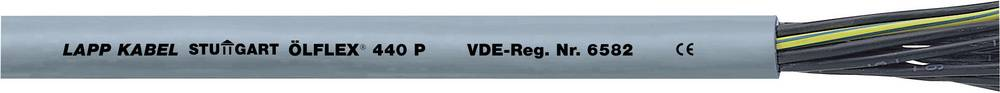 Krmilni kabel ÖLFLEX® 440 P 4 G 0.75 mm sive barve LappKabel 0012815 300 m