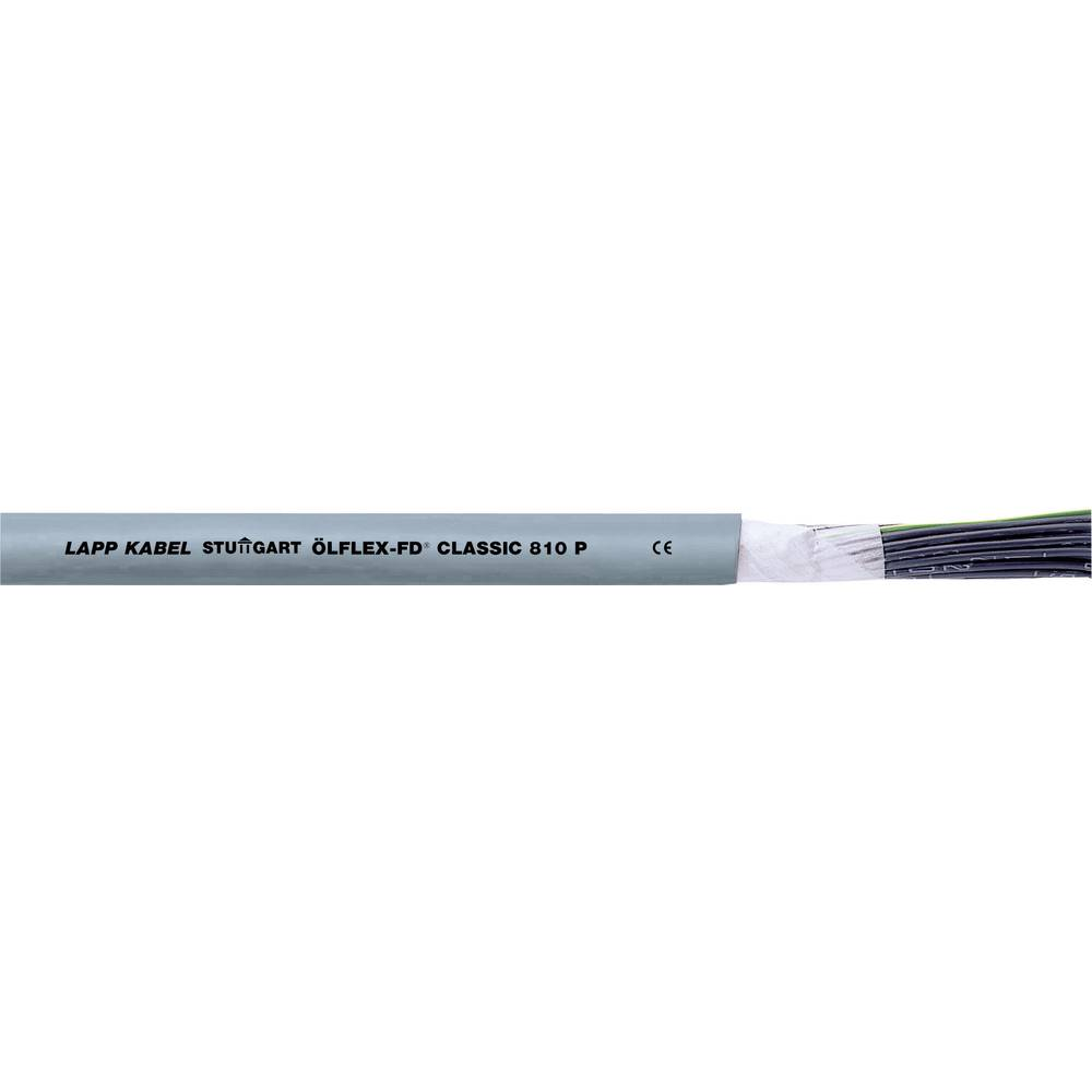 Energijski kabel ÖLFLEX® FD CLASSIC 810 P 3 G 1.5 mm sive barve LappKabel 0026350 meterski