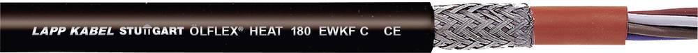 Visokotemperaturni vodnik ÖLFLEX® HEAT 180 EWKF 5 G 1.5 mm črne barve LappKabel 00463163 100 m