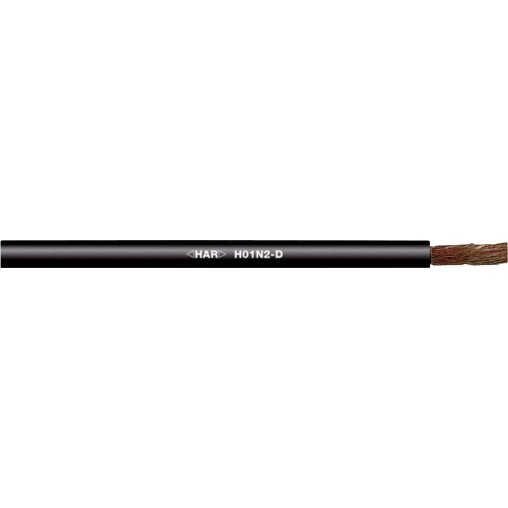 Varilni vodnik H01N2-D 1 x 95 mm črne barve LappKabel 2210705 25 m
