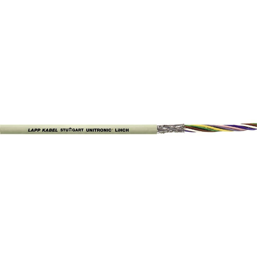 Podatkovni kabel UNITRONIC® LiHCH 8 x 0.34 mm sive barve LappKabel 0037508 100 m