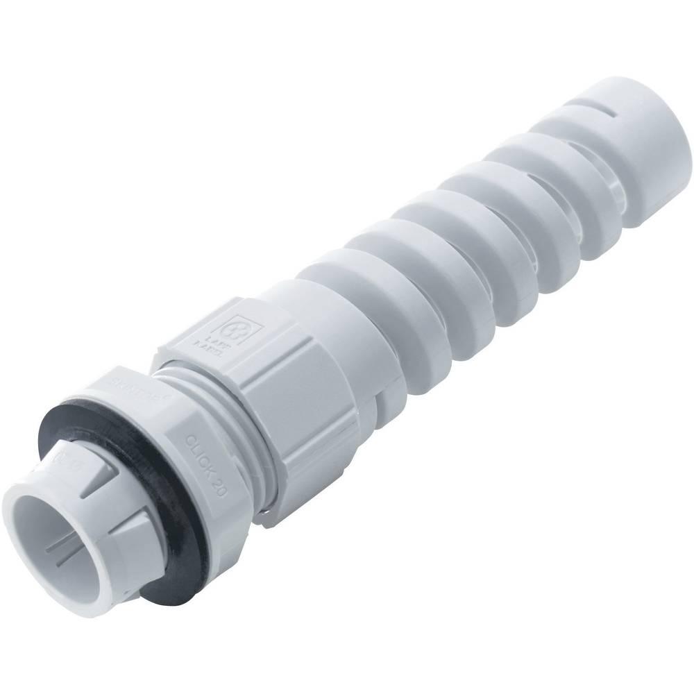 Kabelska uvodnica sa zaštitom od savijanja M25 poliamid, srebrno-sive boje (RAL 7001) LappKabel SKINTOP® CLICK BS M25 LGY 1