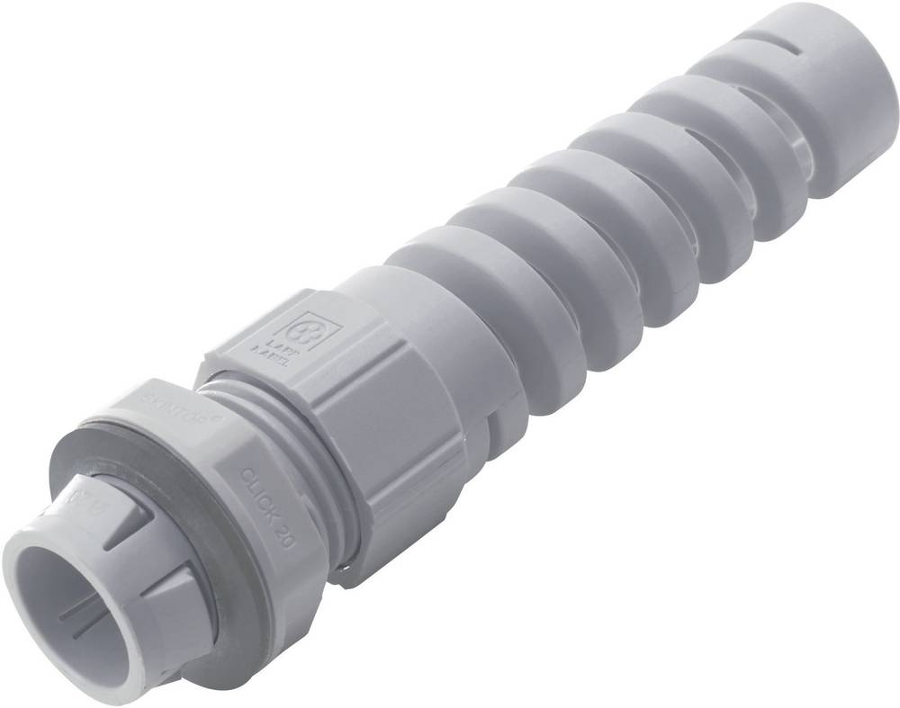 Kabelska uvodnica sa zaštitom od savijanja M25 poliamid, svijetlo sive boje (RAL 7035) LappKabel SKINTOP® CLICK BS M25 GY 1