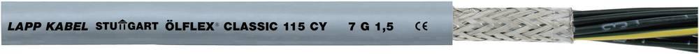 Krmilni kabel ÖLFLEX® CLASSIC 115 CY 4 G 0.75 mm sive barve LappKabel 1136104 50 m