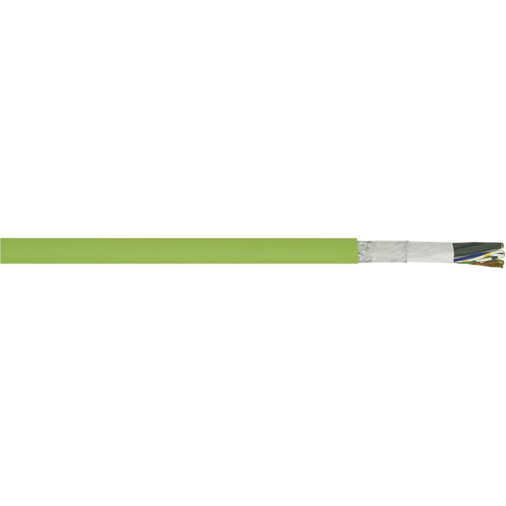 Kabel za krmiljenje servo motorjev Siemens-Standard 6FX 8008 8 x 0.38 mm + 4 x 0.5 mm zelene barve LappKabel 00277111 meterski