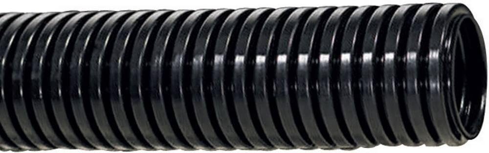Zaštitna cijev HelaGuard PA6,odebeljena, unutarnji O: 46mm,crna, HG-HW54 166-11308 HellermannTyton