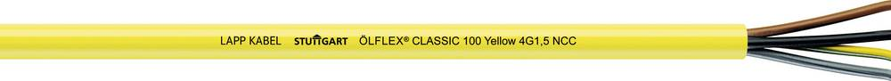 Upravljački kabel ÖLFLEX® CLASSIC 100 YELLOW 3 G 1.50 mm žute boje LappKabel 0010400 roba na metre