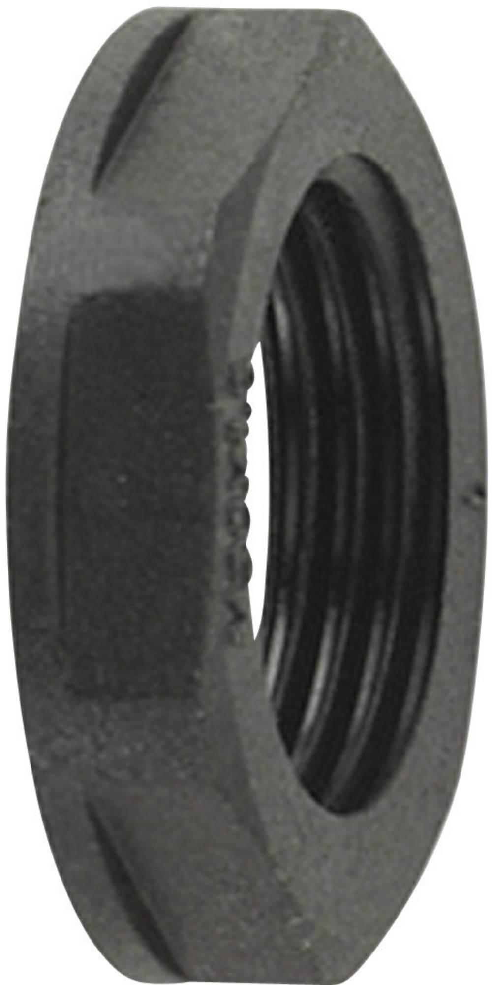 Protimatica HellermannTyton HelaGuard ALPA-PG36, črne barve,vsebina: 1 kos 166-50148