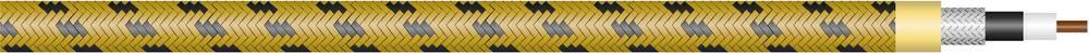 Kabel za kitaro Sommer Cable SC-CLASSIQUE, 1 x 0,5 mm2, rumeno-črne barve, metrsko blago 300-0107
