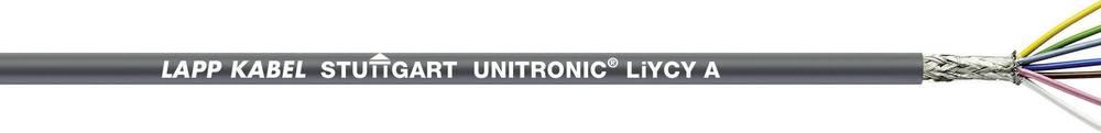 Podatkovni kabel UNITRONIC® LiYCY A 4 x 0.14 mm sive barve LappKabel 0044604 meterski