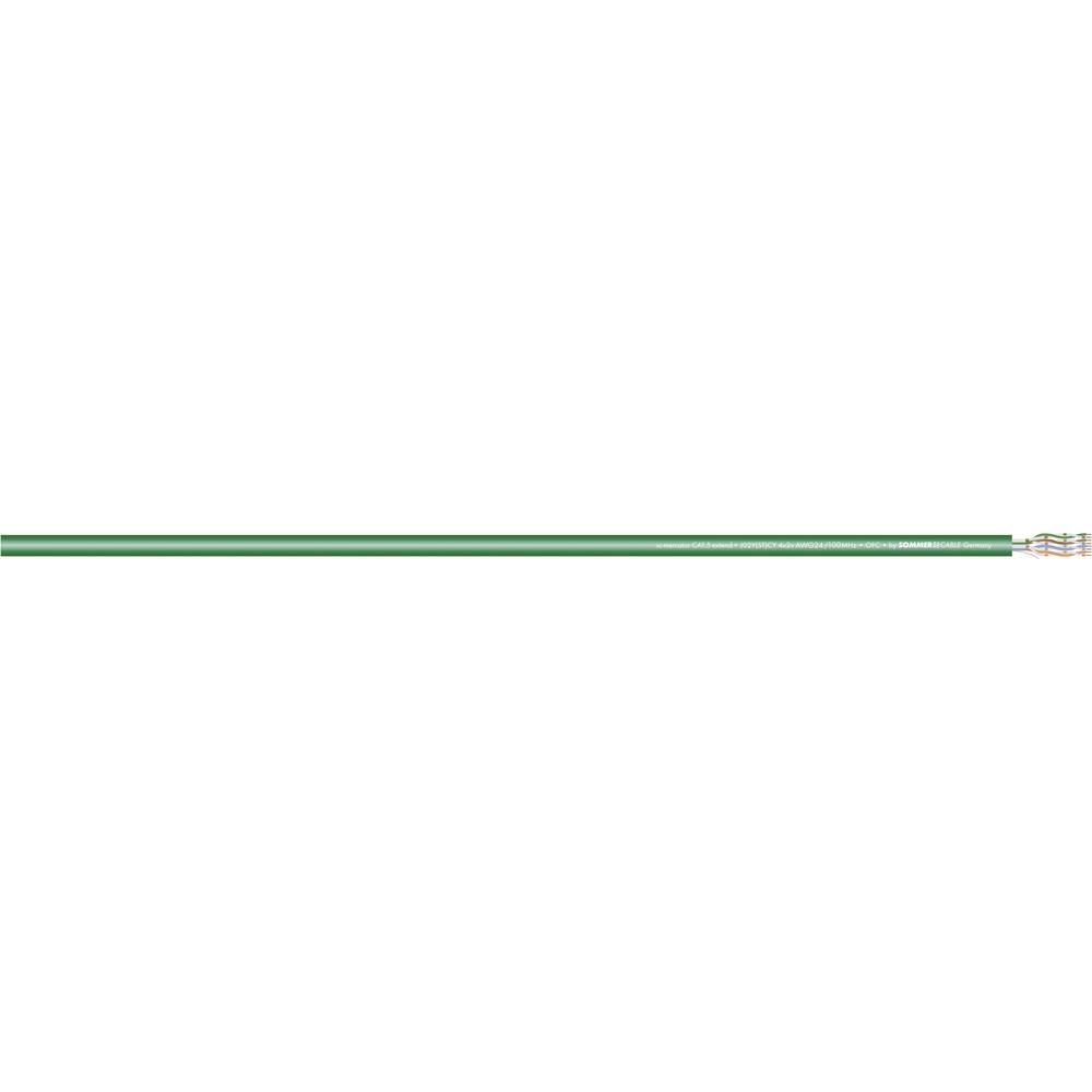 Video kabel Sommer Cable SC-Mercator Extend U/UTP, 4 x 2 x 0,15 mm2, zelen, metrsko blago 581-0204