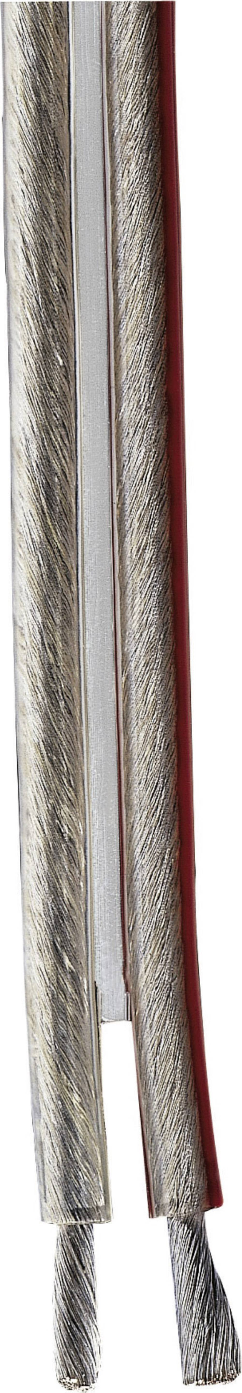 Kabel za zvučnike 86619 Hama 2 x 4 mm prozirna, roba na metre