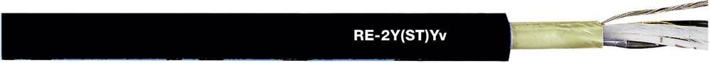 Podatkovni kabel RE-2Y(ST)Yv 2 x 2 x 0.50 mm crne boje LappKabel 0032412 roba na metre