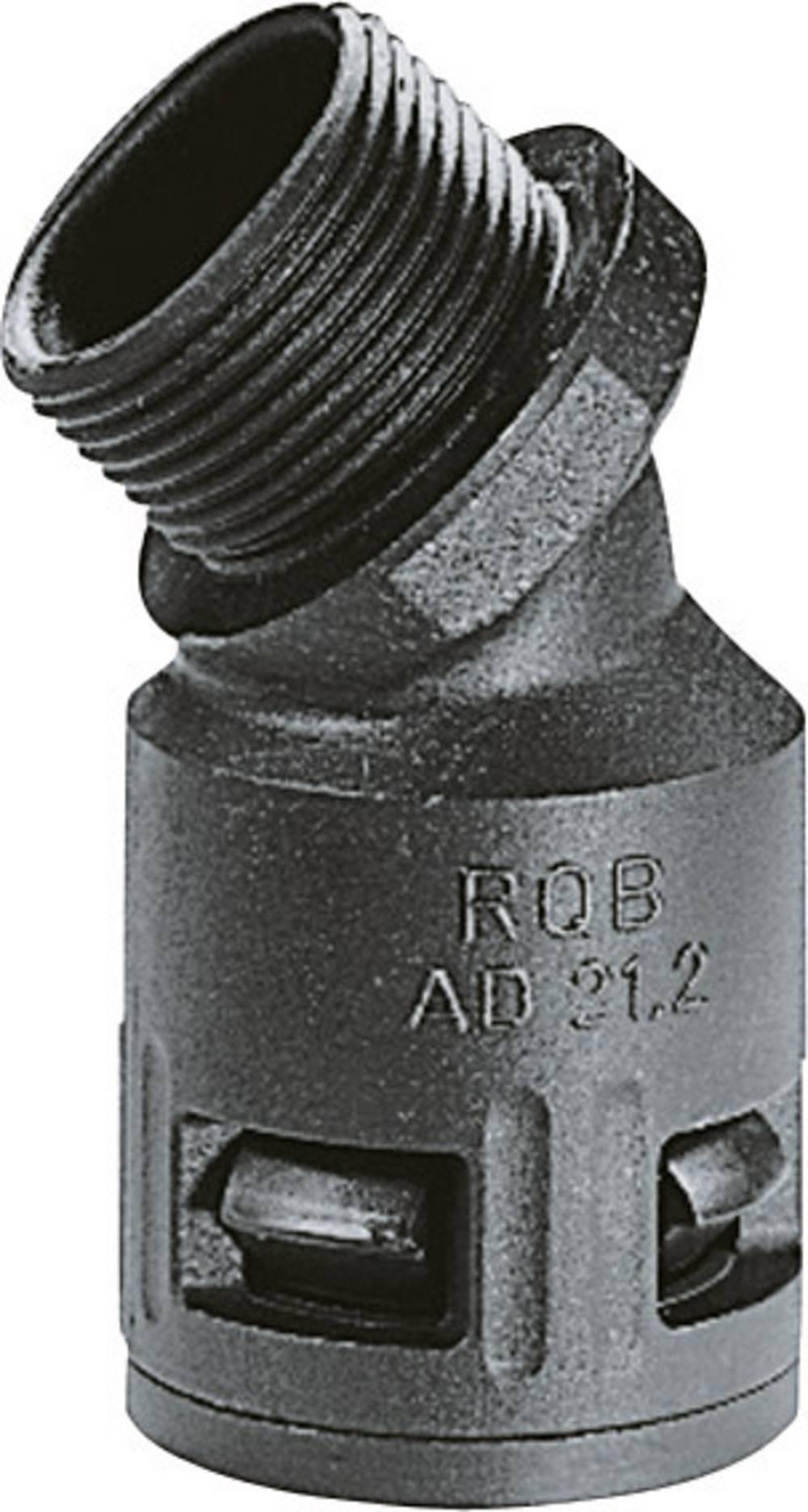 SILVYN® cevna uvodnica KLICK-45°B M IP66 SILVYN® KLICK 45°B IP66 40x1,5 BK LappKabel vsebuje: 1 kos