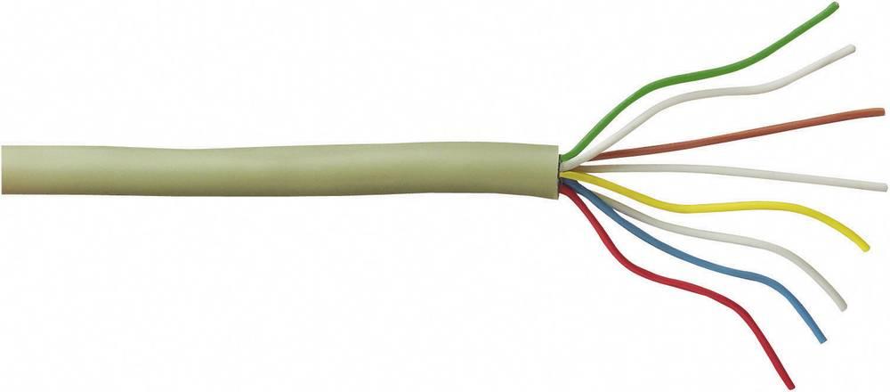 Telefonski kabel J-Y(ST)Y 8 x 2 x 0.28 mm sive boje BKL Electronic 1507005/50 50 m