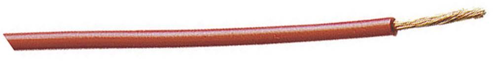 Finožični vodič FLEXI-E 1 x 1 mm žute boje MultiContact 60.7009-10024 metarski