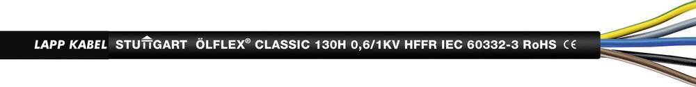 Upravljački kabel ÖLFLEX® CLASSIC 130 H BK 2 x 1 mm crne boje LappKabel 1123410 50 m