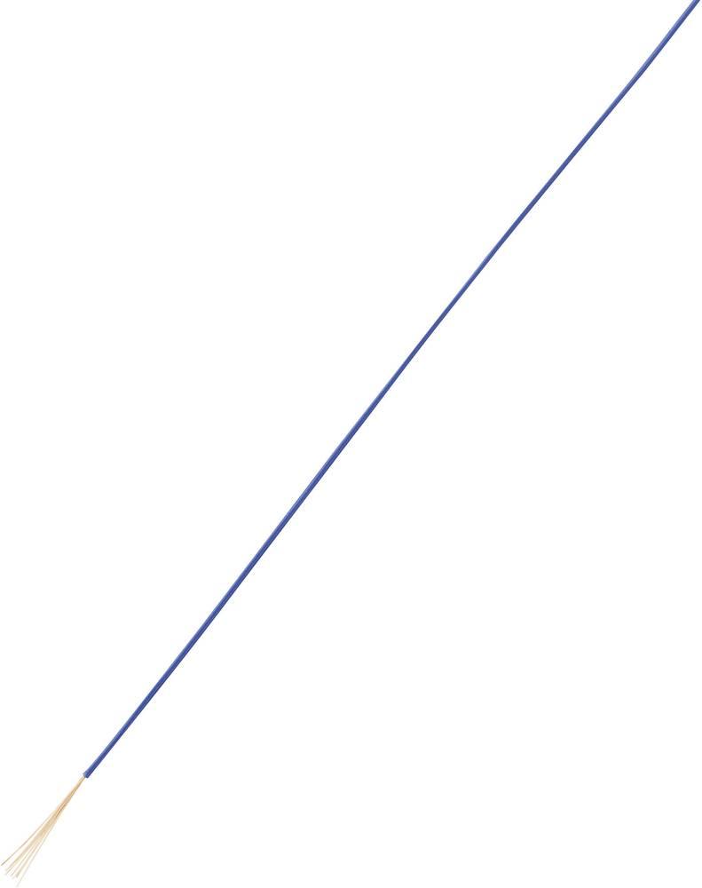 Finožični vodnik LiFY 1 x 0.50 mm modre barve Conrad Components 93030c142 50 m