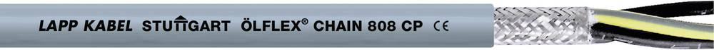 Kabel za energetski lanac ÖLFLEX® CHAIN 808 CP 3 G 1 mm sive boje LappKabel 1027768 roba na metre