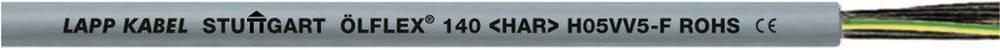 Krmilni kabel ÖLFLEX® 140 12 G 0.75 mm sive barve LappKabel 0011012 100 m