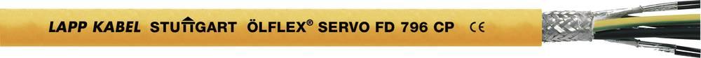 Kabel za krmiljenje servo motorjev ÖLFLEX® SERVO FD 796 CP 4 G 2.5 mm oranžne barve LappKabel 0027951 50 m