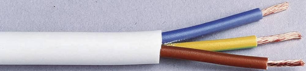 Gumeni kabel H03VV-F 3 G 0.75 mm bijele boje LappKabel 49900068 10 m