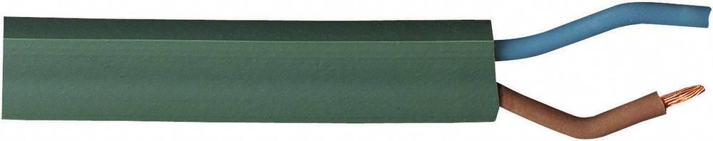 Lichterkettenkabel H05RNH2 2 x 1.5 mm zelene barve BKL Electronic 071002/10 10 m