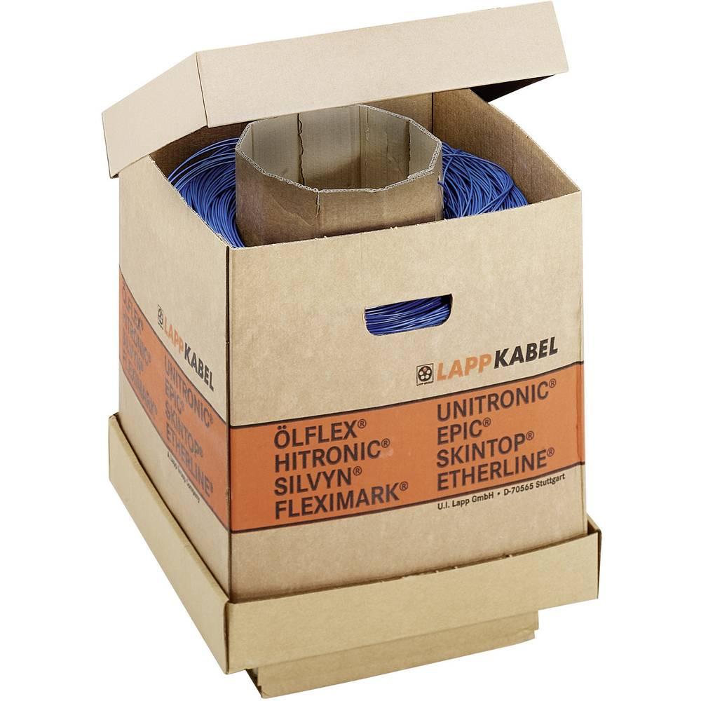 Finožični vodnik H05V-K 1 x 0.50 mm sive barve LappKabel 4511073K 3000 m