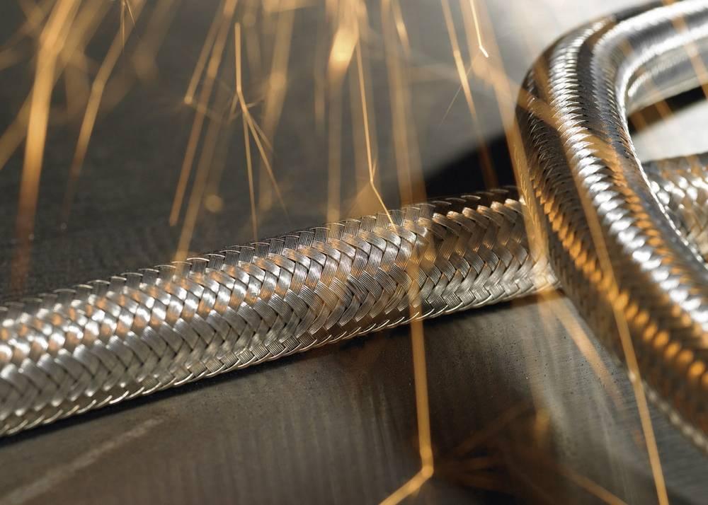 Fleksibilna cijev s metalnom zaštitom HelaGuard SCSB, unutarnji O: 16.9mm, metalna, SCSB20 166-34402 HellermannTyton
