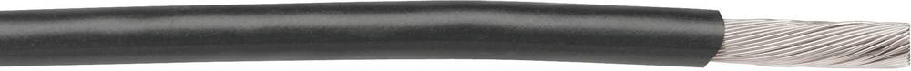 Finožični vodnik 1 x 0.50 mm črne barve AlphaWire 3073 BK005 30.5 m