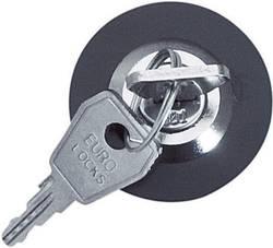 Stikkontakt lås unik nyckel Forskelligt lukkende Grå 1 stk