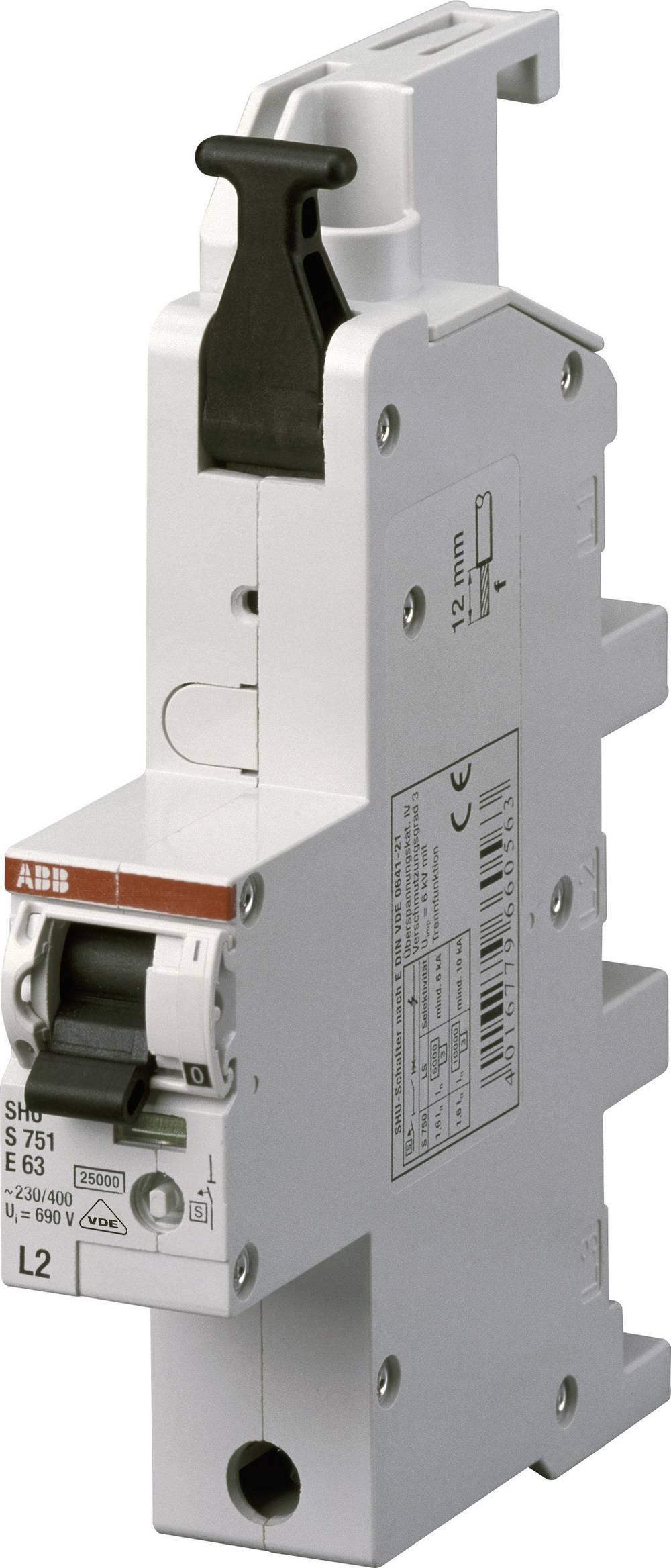 Instalacijski prekidač 1-polni 25 A ABB 2CDS781001R7252