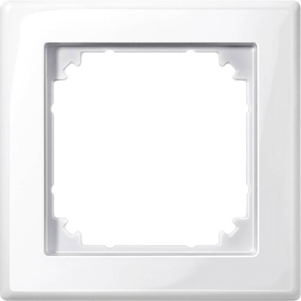 Merten 1x Frame M-Smart Polar white glo from Conrad.com