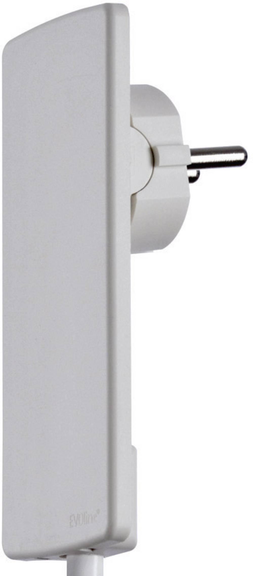 Fladstik EVOline® Plug hvid EVOline EVOline Plug 103220 Hvid