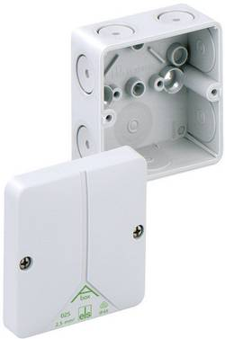 Forbindelsesdåse (L x B x H) 80 x 80 x 52 mm Spelsberg Abox 025 leer Grå IP65